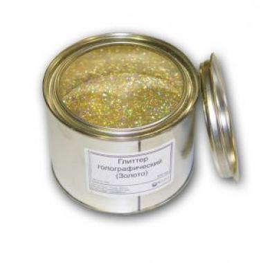 Блестки декоративные (золото) 0.2 кг