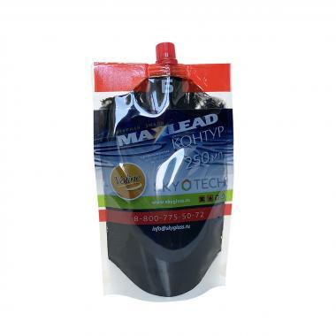 """Контурная эмаль Maxlead Lux свинец """"Контур Б отвердитель"""" (0,25 литра)"""