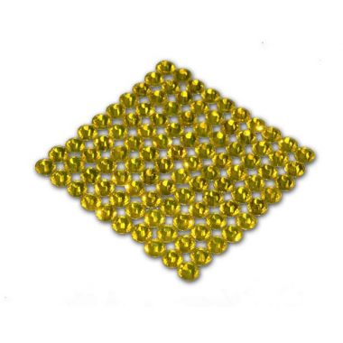 Стразы цвет желтый SS20 (4.6-4.8 мм) 1440шт.