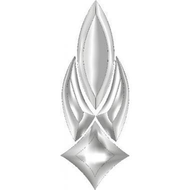 Фацетовый элемент в сборе №1